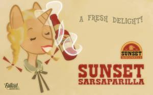Sunset Sarsaparilla by Scaramouche-Fandango