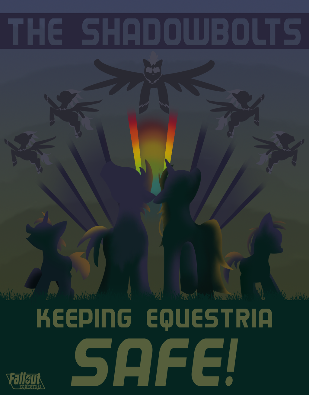 Keeping Equestria Safe by Scaramouche-Fandango