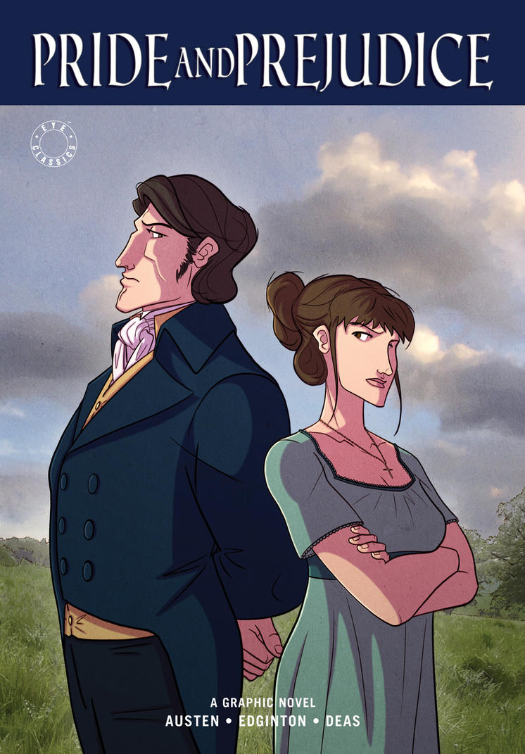 Pride and Prejudice Cover by RDComics