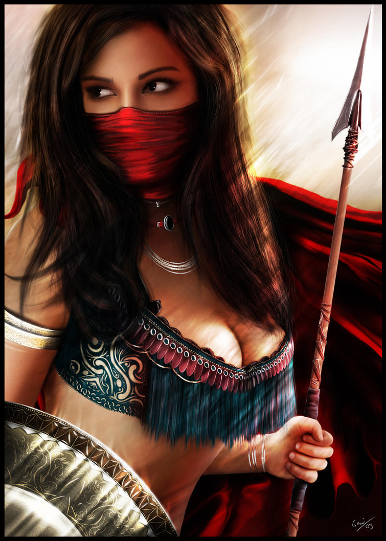 Persian Warrior by Italiener