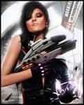 Mass Effect - Biotic Babe