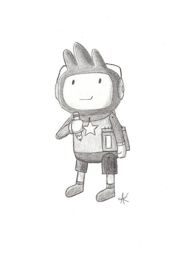 Maxwell Scribblenauts Drawing : Maxwell drawing by pandakong on deviantart
