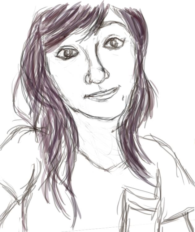 Marinashutup sketch by PandaKong