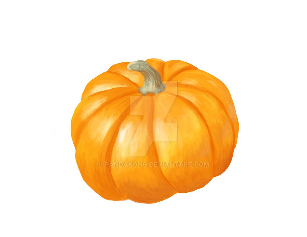 Drawlloween #6: Pumpkin by PandaKong