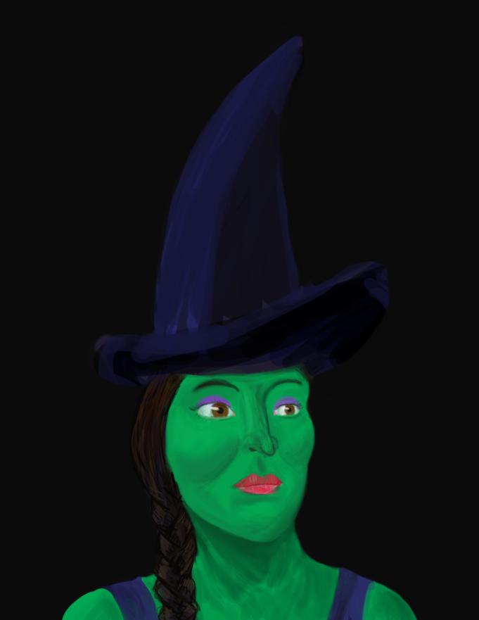 Drawlloween #27: Witch by PandaKong