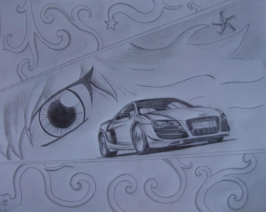 Audi R8 GT by Samanth406