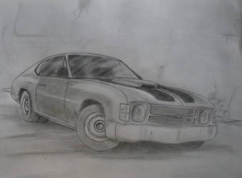 Chevrolet Chevelle by Samanth406