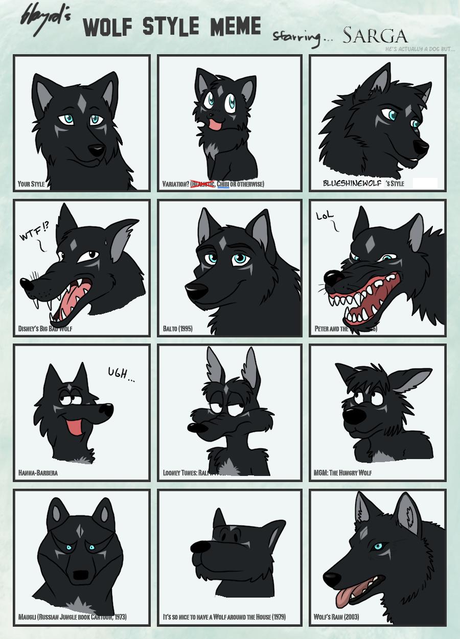 Wolf style meme zerwolf