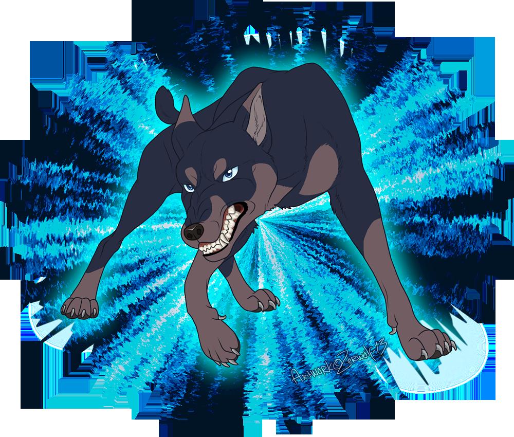 Maurus the Dobermann by Zerwolf