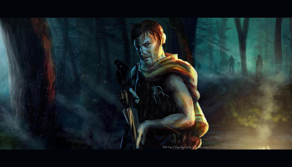 TWD - Daryl Dixon: Zombie Killer by AngelMC18