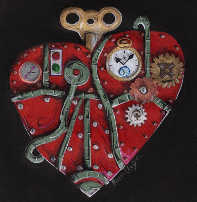Steampunk Heart by Dangerskillz