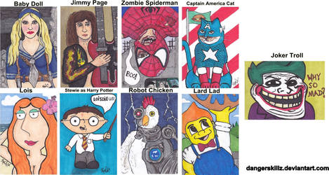 March of Dimes - Sketch Cards