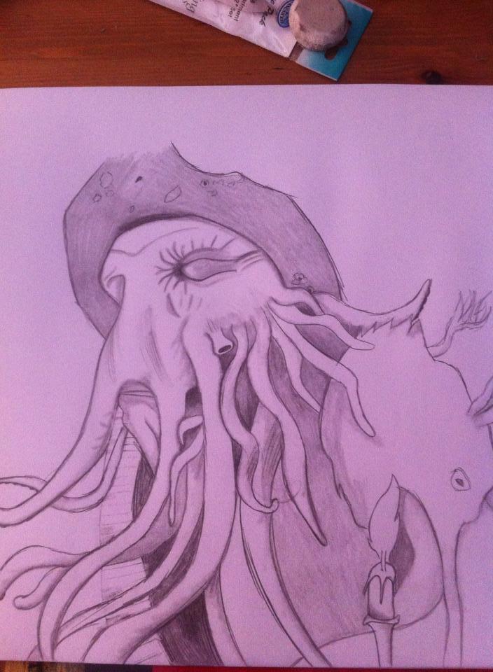 Davy Jones - 12-07-2014 - 1st try by EmeraldNeko