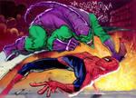Spidey vs Green Goblin