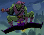 spider man the animated series green goblin