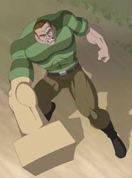 spider man the animated series sandman by stalnososkoviy