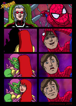 my final spider man the animated series