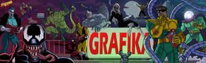 spider man the animated series GRAFIKA