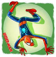 spider-man by stalnososkoviy