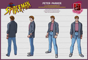 spider man the animated series Peter Parker by stalnososkoviy