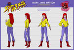 spider man the animated series MARY JANE WATSON