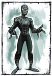 Symbiote costume(Spider-Man film 2007) color