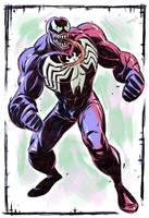 Venom Spider-Man (1994 TV series) by stalnososkoviy