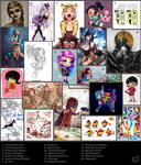 Influence Map 2013
