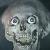 Shrieking Skull Emoji