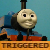 Triggered Thomas Emoji