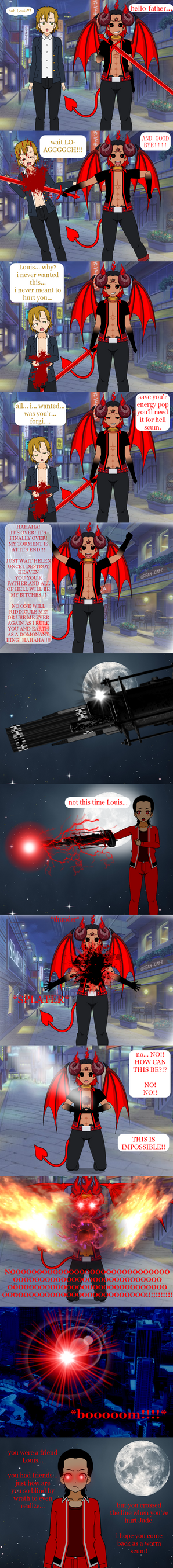 the end of Louis by mechatrain150