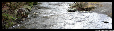Small river by Loja