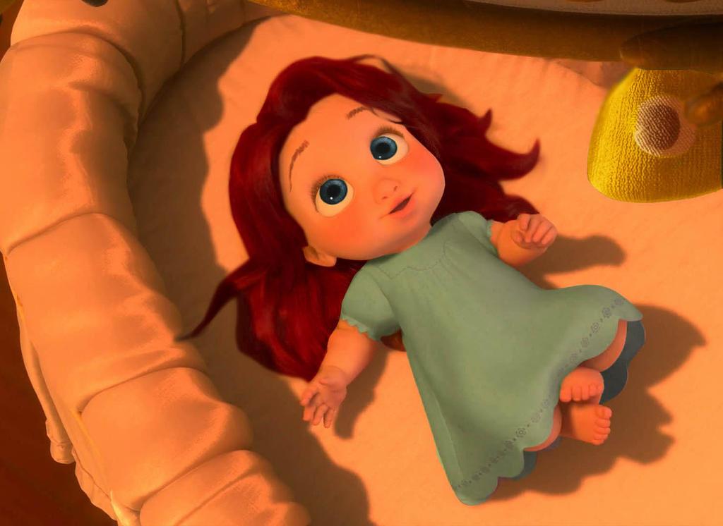 Rapunzel As A Baby Bab...