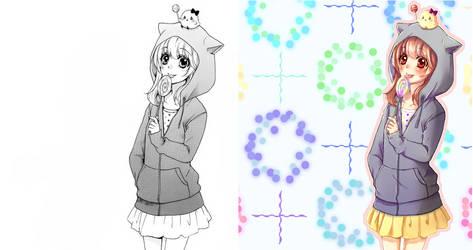 Hiyokoi Hiyorin Colored 4