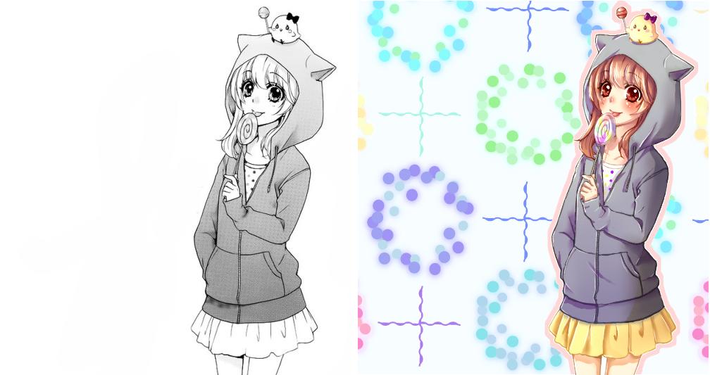 Hiyokoi Hiyorin Colored 4 by payton01