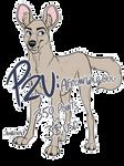 P2U LINES - African Wild Dog