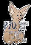 P2U LINES: Fennec Fox by aantlers