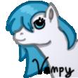 Very Tiny Pic of my Pony OC by VampyKit