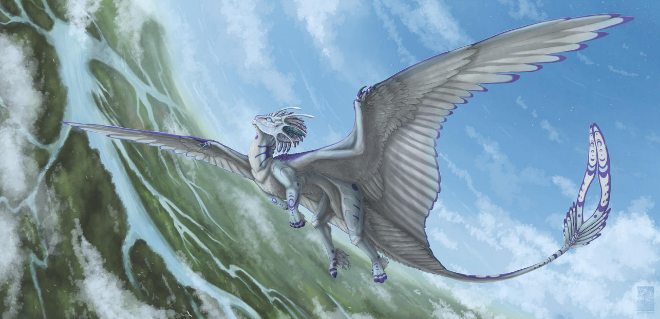 On the wings of Dekada by Keltaan