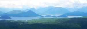 BC Coastline by DillBagel