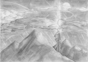 Meteor Shower by DillBagel