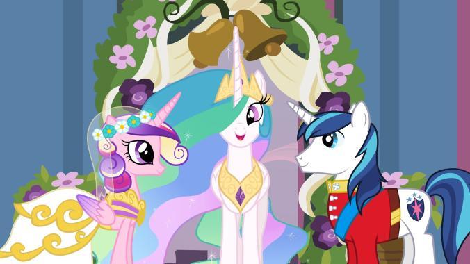 Princess Cadence and Shining Armor's wedding by SawyerMoonKitty on ...