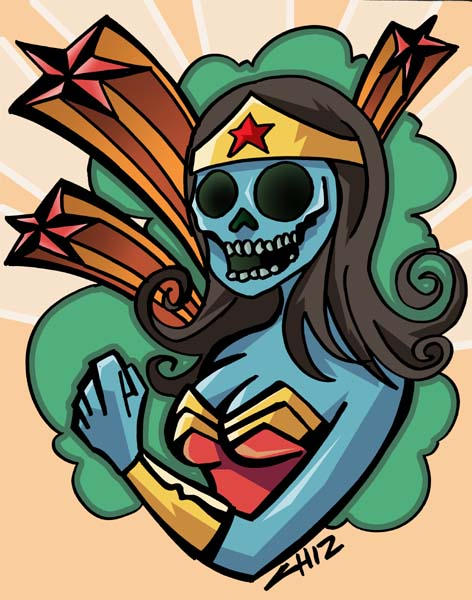 WONDER WOMAN DEAD by CHIZZZ