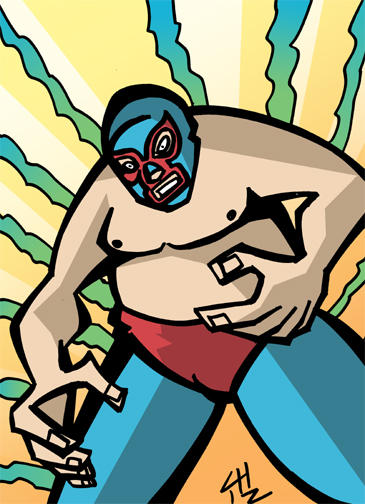 NACHO LIBRE by CHIZZZ