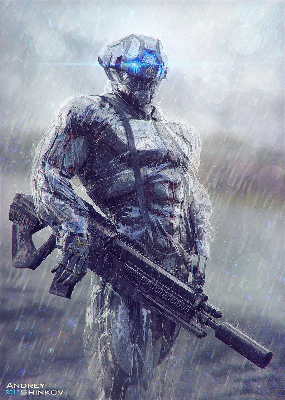 Cyborg by Tremess