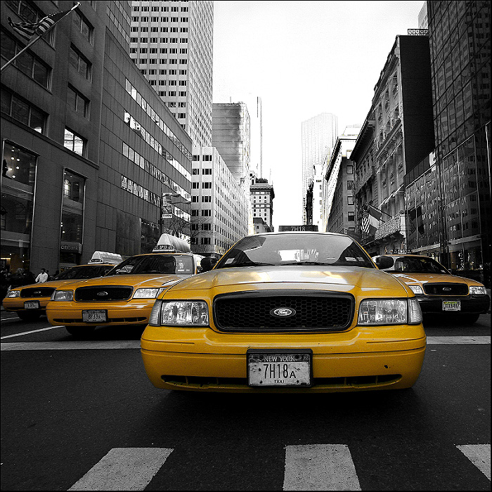 new york taxi by toko on DeviantArt