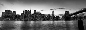 nyc skyline by toko