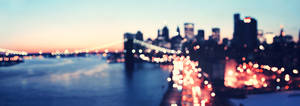 new york bokeh skyline
