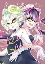 squids!! by LittleChisa