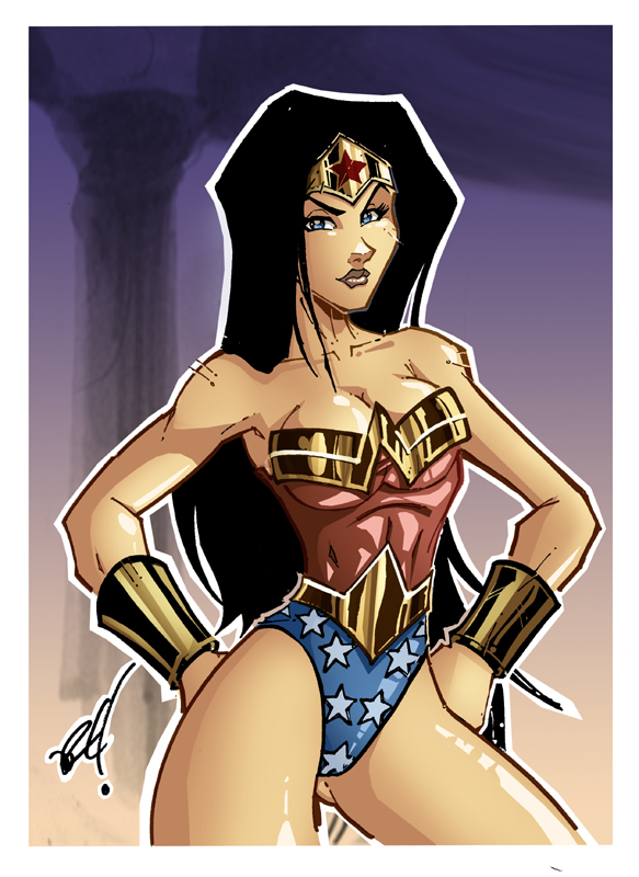 wonder woman 1 by IRLGZZ